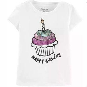 Carter's Sequin Happy Birthday Tee (12M)
